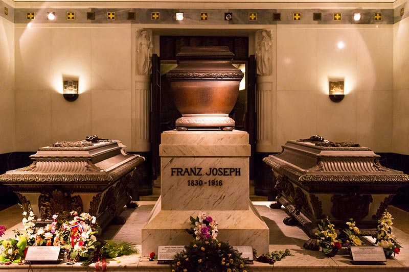 viyana imperial crypt kraliyet mezarligi franz joseph