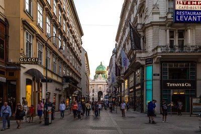 viyana kohlmarkt caddesi yuruyus yolu 400x266