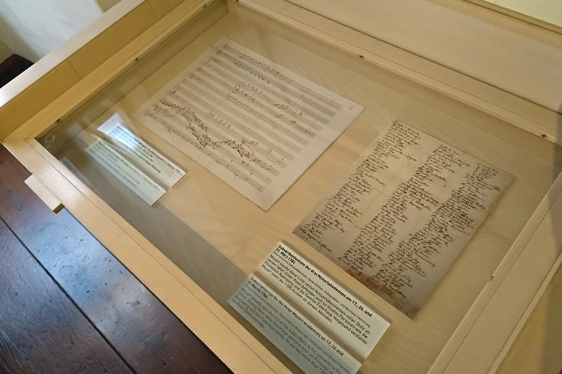 viyana mozart evi muzesi eserleri