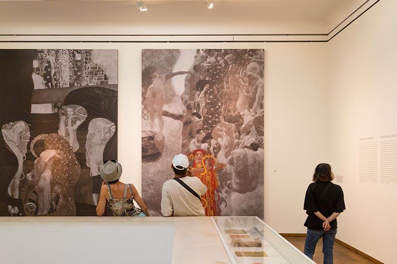 viyana museumsquartier leopold muzesi sanat eserleri