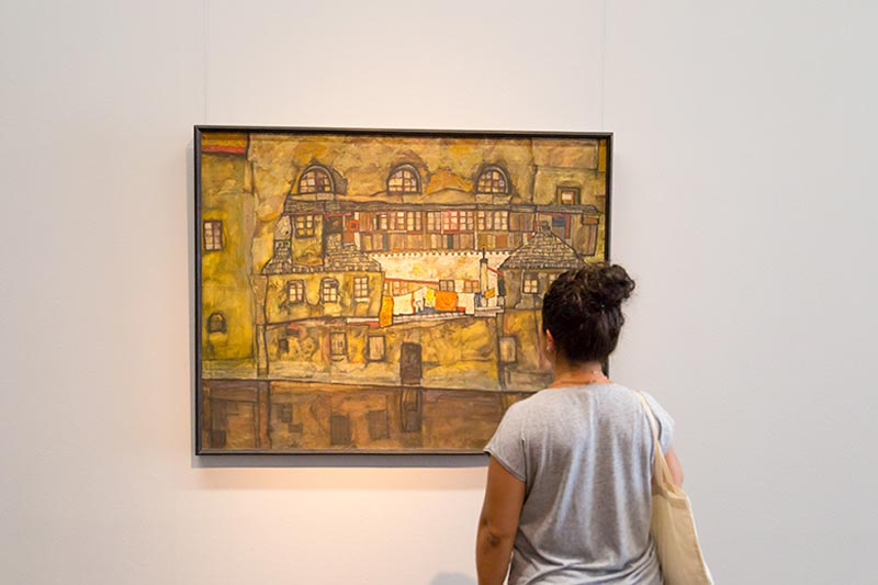 viyana museumsquartier leopold muzesi tablolari