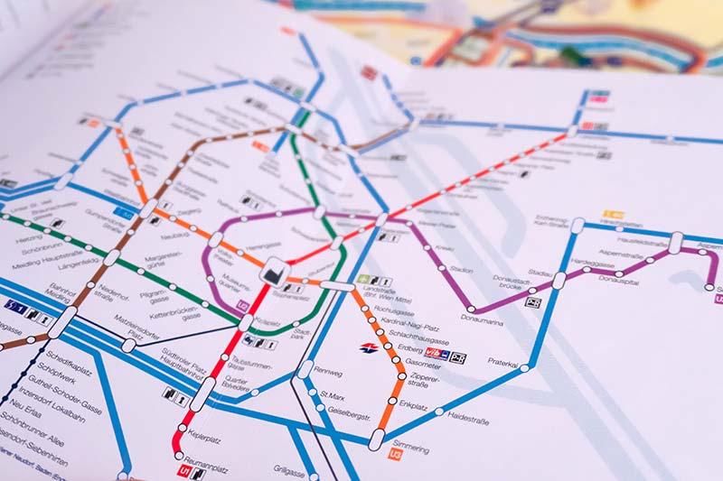 avusturya vienna pass metro ulasim haritasi