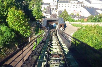 hohensalzburg salzburg kalesi funikuler yolculugu 400x266