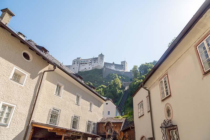 salzburg kalesi old town gorulecek yerler