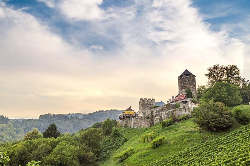 deutschlandsberg kalesi sytria gezilecek yerler