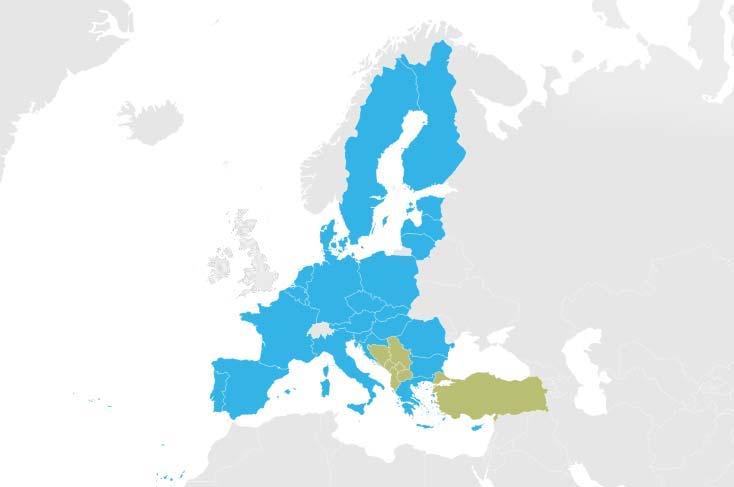 schengen vizesi ulkeleri haritasi
