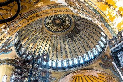 ayasofya kubbesi sultanahmet istanbul 400x266