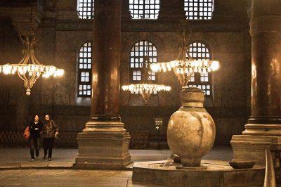 ayasofya muzesi mermer kupler 400x266
