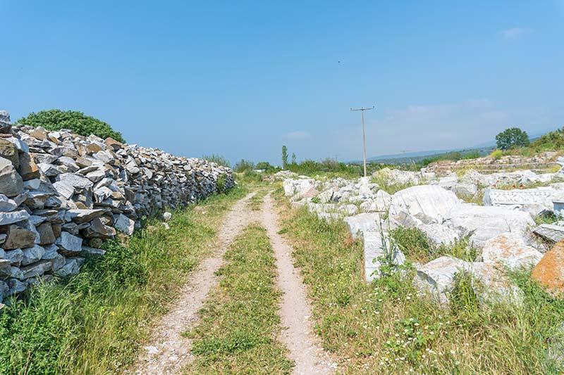 erdek kyzikos antik kenti tarihi eserler