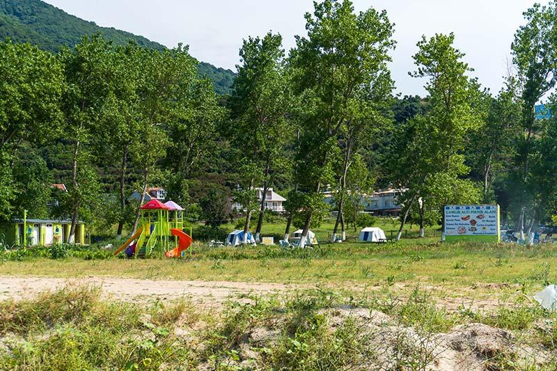 erdek kapidag camlikalti piknik camping cadir alani