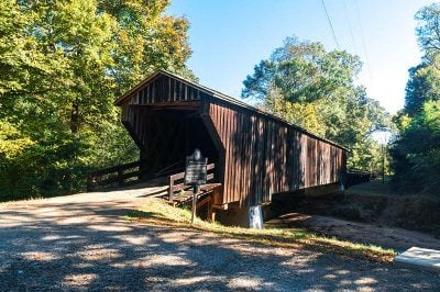georgia red oak creek covered bridge ahsap kopru 400x266
