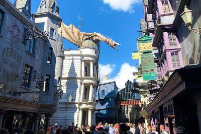 Universal Studios'ta Harry Potter'ın Sihirli Dünyası