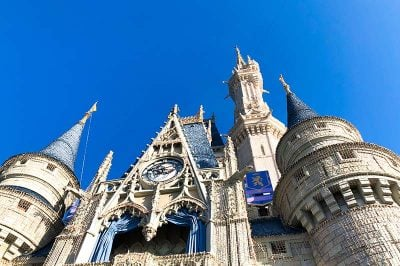 walt disney magic kingdom cinderella castle 400x266