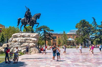 Tiran Arnavutluk'un Başkenti